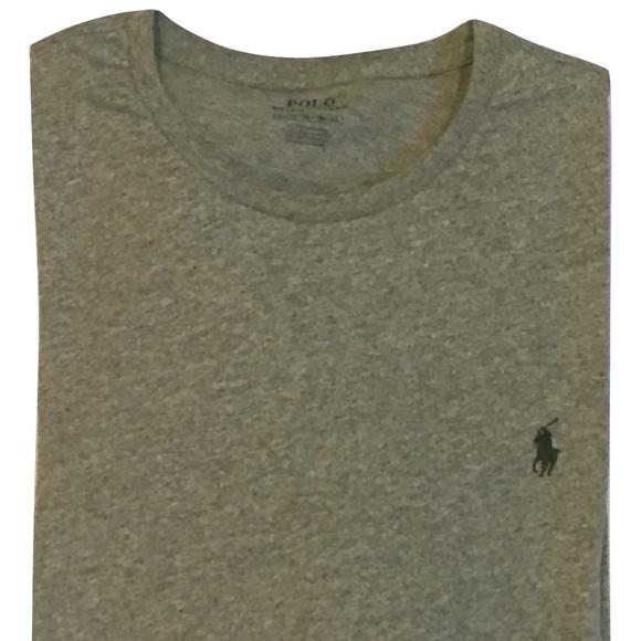 Ralph Ls T Xxl Gray Nwt Shirt Polo Men's Lauren CrodxBe